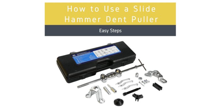 How to Use a Slide Hammer Dent Puller
